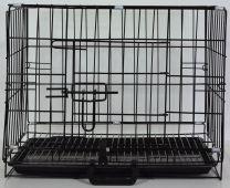 Opvouwbare Bench / Transportkooi incl. uitneembare plastic bodem ( zwart )